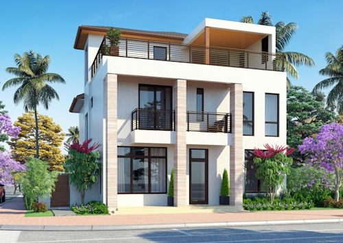 Bali 3 Story Model at Canarias Downtown Doral - Click to learn more